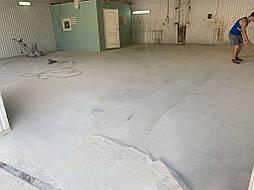 Обеспыливание бетонного пола 2