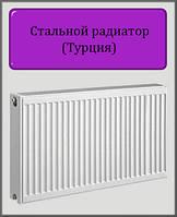 Стальной радиатор DL 500х500 22 типа боковое подключение