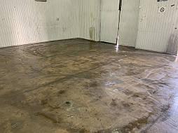 Обеспыливание бетонного пола 7