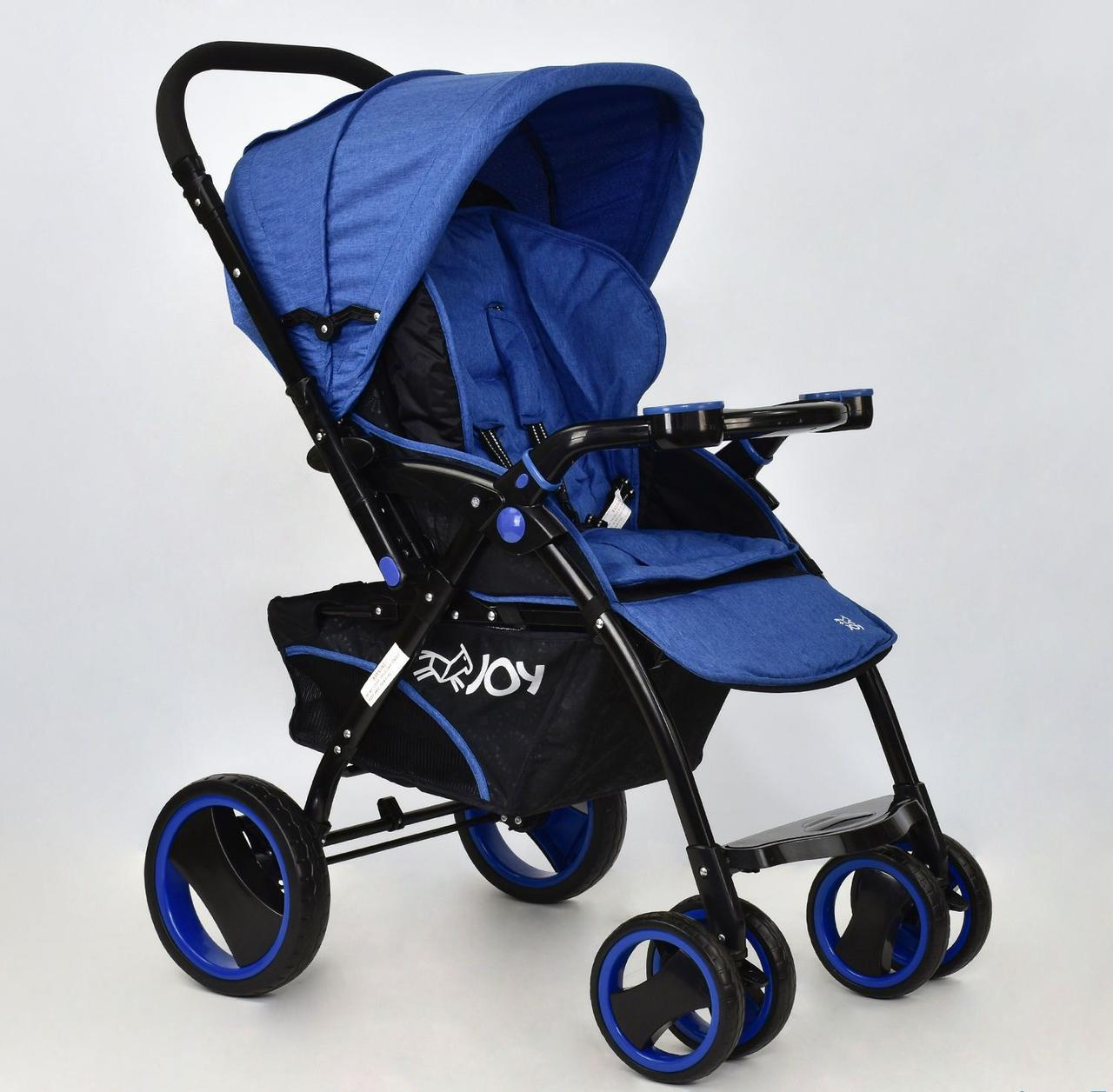 Коляска детская Т 100 цвет Синий