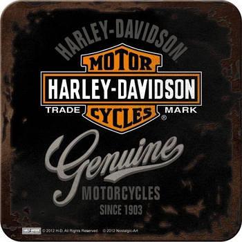 Металлическая подставка Nostalgic-Art Harley-Davidson Genuine (46101)