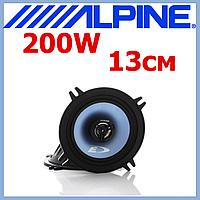 Коаксиальные колонки динамики акустика для авто 13 см 200 Вт ALPINE SXE-13C2, фото 1