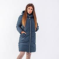 Женское пальто Indigo N 024T PETROL