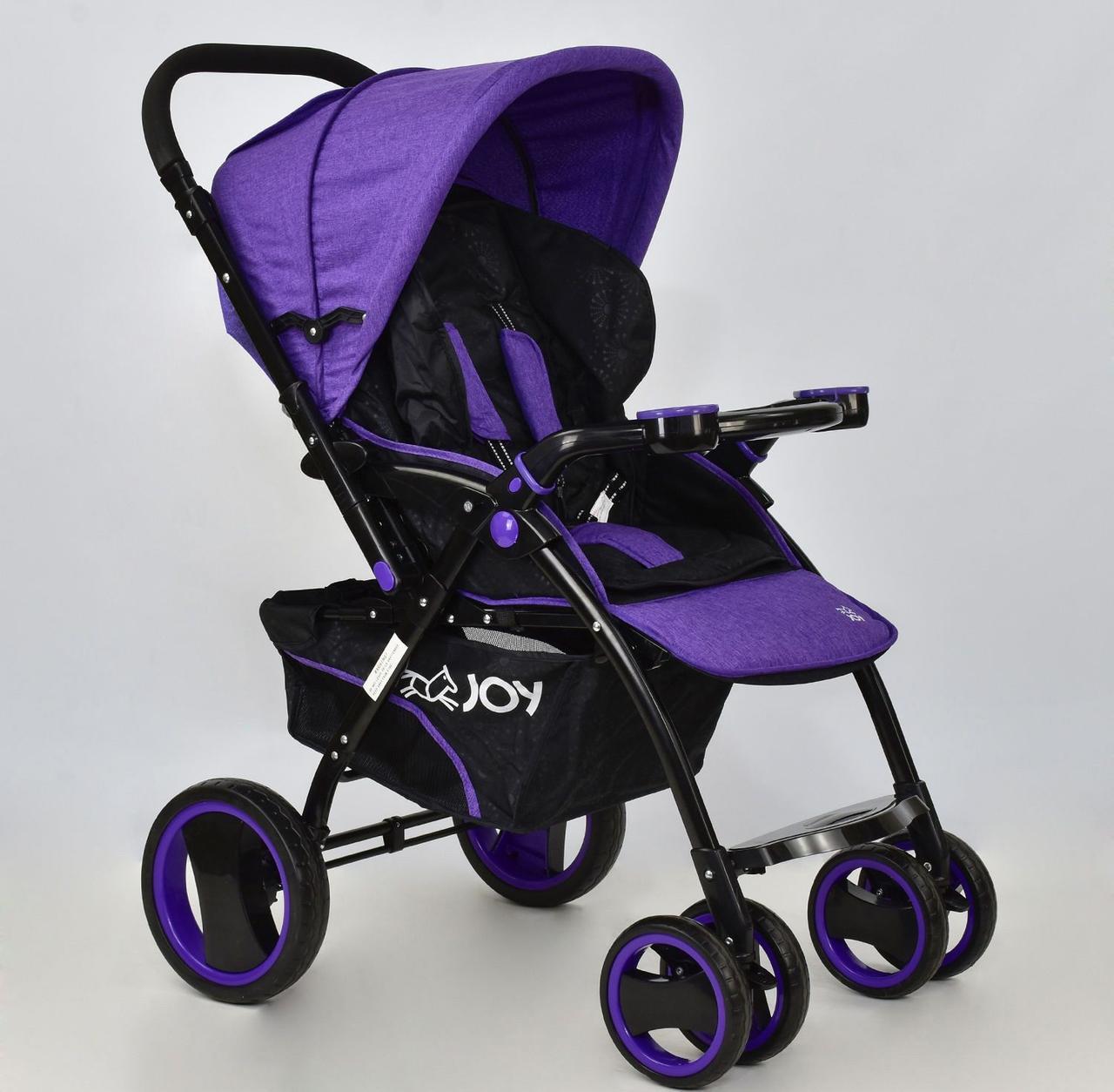 Коляска детская Т 100 цвет Фиолетовый