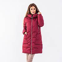 Женское пальто Indigo N 024T PLUM
