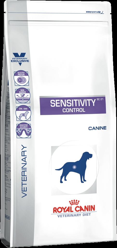 Лечебный корм для собак антиаллергенный Royal Canin SENSITIVITY CANINE 14 кг