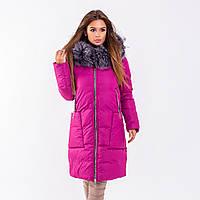 Женское пальто Indigo N 024T RASPBERRY