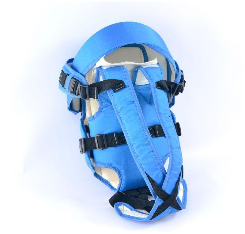 Гр Рюкзак-кенгуру №8 (1) лёжа,цвет синий. Предназначен для детей с двухмесячного возраста