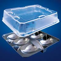 Пластиковая упаковка для яиц