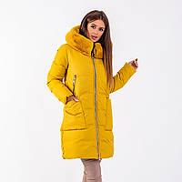 Женское пальто Indigo N 024T YELLOW