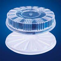 Пластиковая упаковка для рулетов и тортов