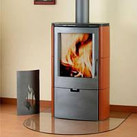 Кафельная печь на дровах Falun топка, отопительная печь на дровах, каминофен, буржуйка.
