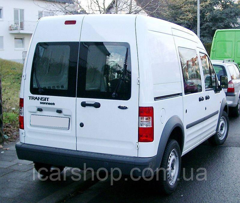 Стекло Ford Transit Connect I 00-13 Тыл Правый с Э/О и Отверстием