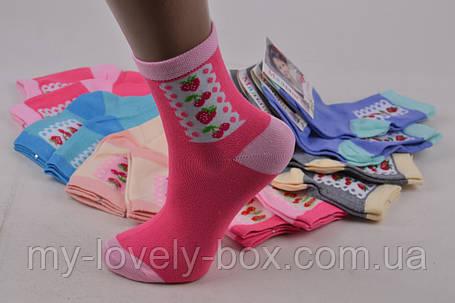 """ОПТОМ.Детские носки на девочку """"ХЛОПОК"""" (Арт. TKC258/S)   12 пар, фото 2"""