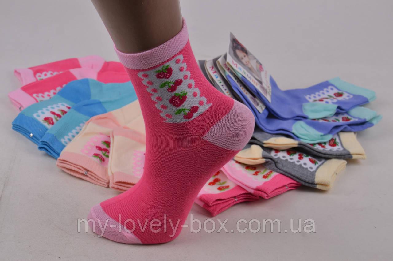 "ОПТОМ.Детские носки на девочку ""ХЛОПОК"" (Арт. TKC258/M) | 12 пар"