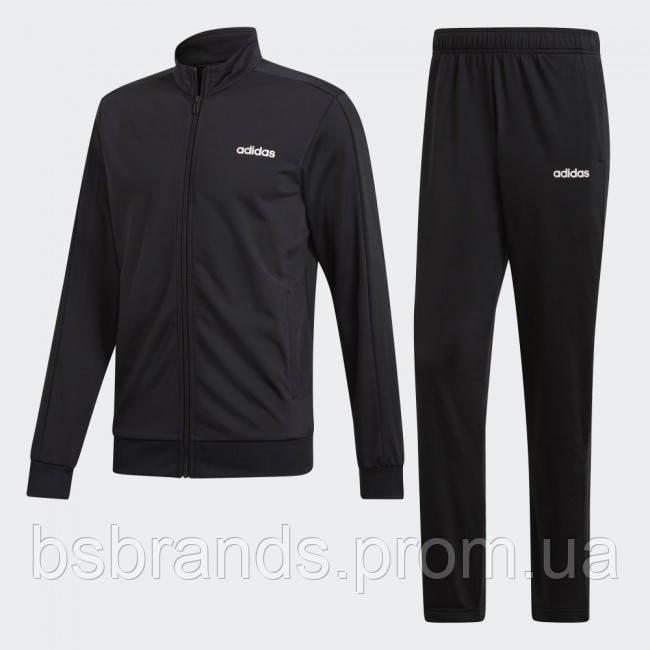 Мужской спортивный костюм adidas MTS BASICS BLACK (АРТИКУЛ: DV2470)