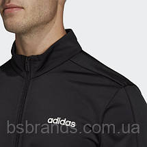 Мужской спортивный костюм adidas MTS BASICS BLACK (АРТИКУЛ: DV2470), фото 2