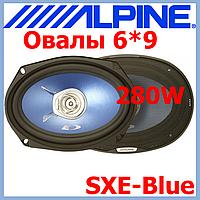 """Акустика для авто ALPINE SXE-69C2 (Авт. гучномовець, 2-пол. коакс, 6""""x9"""" 280 Вт/45 Вт із захисними решітками)"""