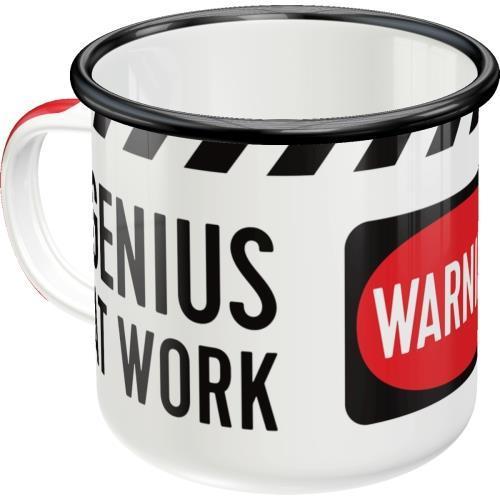 Эмалевая чашка Nostalgic-Art Genius At Work (43202)