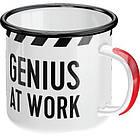 Эмалевая чашка Nostalgic-Art Genius At Work (43202), фото 2