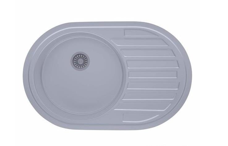 Мойка кухонная из нержавеющей стали ULA 7108 ZS Satin 08
