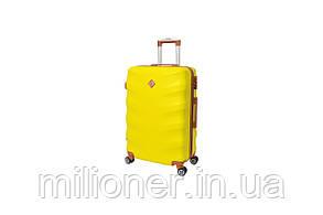 Чемодан Bonro Next (большой) желтый, фото 2