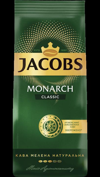 Кофе молотый Jacobs Monarch Classic 70 г м/у