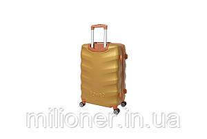 Чемодан Bonro Next (большой) золотой, фото 2