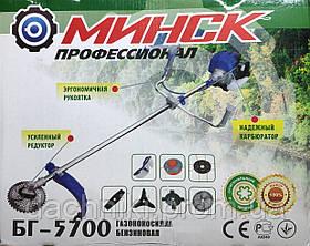 МИНСК БГ-5700 Бензотример + 7 насадок, фото 3