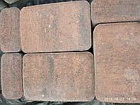 "Тротуарная плитка Авеню ""Старый город"" Колор-Микс Гранат, 60 мм, фото 1"