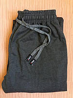 Спортивные штаны теплые унисекс р.50-52 темно-серые. От 4шт по 72грн
