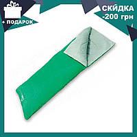 Спальный мешок 68053 SH BESTWAY в сумке Зеленый | спальник для туризма | одеяло для похода, фото 1