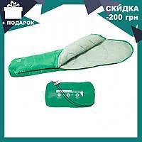 Спальный мешок 68054 SH BESTWAY в сумке Зеленый | спальник для туризма | одеяло для похода, фото 1