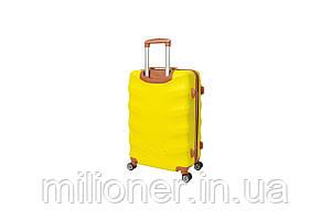 Чемодан Bonro Next (небольшой)  желтый, фото 2
