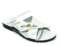 """Шлепки мужские пляжные Лето М136 adidas серый (6 пар р.40-45) """"Waldem"""" недорого оптом от прямого поставщика"""
