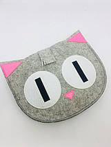 Азбука английская 26 букв по типу Монтессори и Сумка- котик для хранения, фото 2