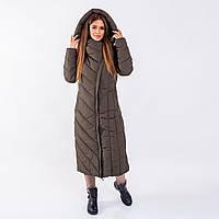 Женское пальто Indigo  N 023TL OLIVE