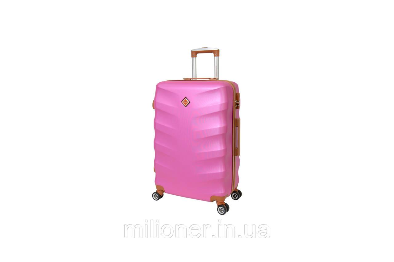 Чемодан Bonro Next (небольшой) розовый