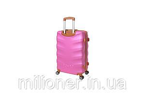 Чемодан Bonro Next (небольшой) розовый, фото 2