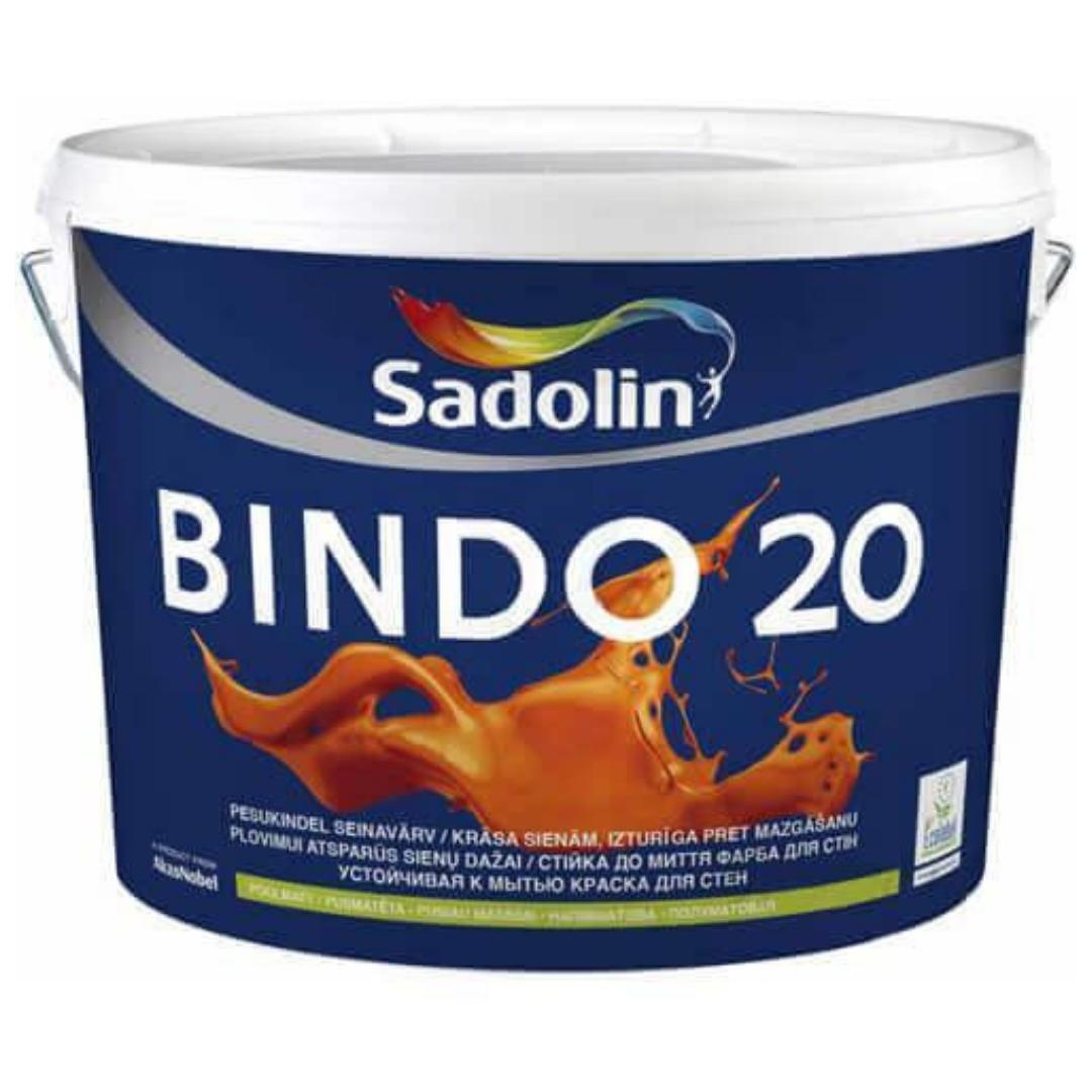 Моющаяся краска Sadolin Bindo 20 2,5л (полуматовая)