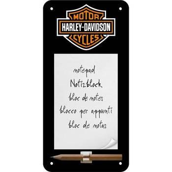 Блокнот на магните Nostalgic-Art Harley-Davidson (84020)