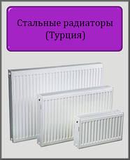 Турецькі сталеві радіатори DL