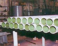 Труба133*4мм. ГОСТ 10704 эмалированная внутри, изолированная снаружи