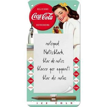 Блокнот на магните Nostalgic-Art Coca-Cola - Diner (84037)