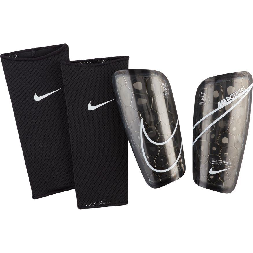 Щитки футбольні Nike Mercurial Lite SP2120-013 Чорний Розмір XS (193145983502)