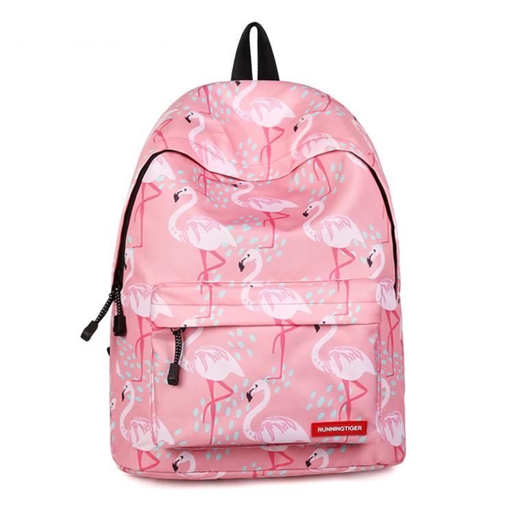 Рюкзак Runningtiger Фламінго рожевий