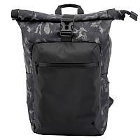 Рюкзак Tuguan CF-1822 Roll Top камуфляжный черный