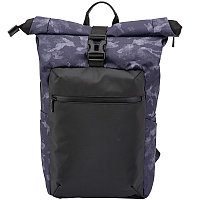 Рюкзак Tuguan CF-1822 Roll Top камуфляжный фиолетовый
