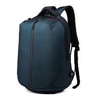 Рюкзак антивор с кодовым замком OZUKO 9080 с отделом для ноутбука 15,6 дюймов и отделом для обуви темно-синий