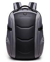 Городской каркасный рюкзак Ozuko 8980 с отделом для ноутбука 15,6 дюймов серый